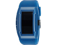 Fastrack Casual Digital Black Dial Men's Watch - 38014PP02