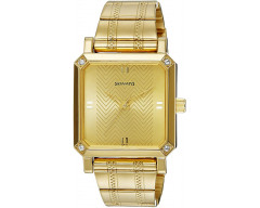 Sonata Analog Gold Dial Men's Watch - 7087YM02