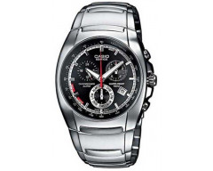 Casio Edifice Men's Stainless Steel Watch EF-510D-1AVDF Alarm Chronograph