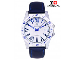 CARNIVAL ANALOG LEATHER WATCH FOR MEN-C0014LM01