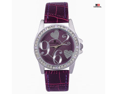CARNIVAL ANALOG LEATHER WATCH FOR WOMEN-C0017L02