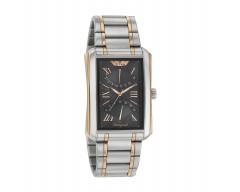 Titan Shaped Analog Black Dial Men's Watch 1694KM01