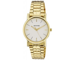 Sonata Analog White Dial Men's Watch -7987YM05