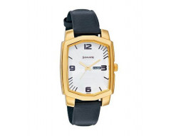 Sonata 7094YL02 Designer-Rectangle Dial White Men's Watch