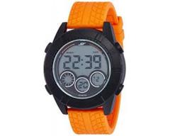 Sonata Digital Grey Dial Men's Watch-77038PP03
