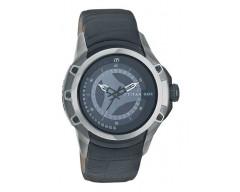 Titan Round Analog Black Dial Men's Watch-1540KL02
