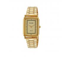 Sonata Analog Champagne Dial Men's Watch-NK77059YM04